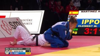 Judo - Paris Grand Slam - Paris Grand Slam : Mélanie Clément (-48 kg) en bronze