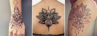 La signification du tatouage mandala lotus