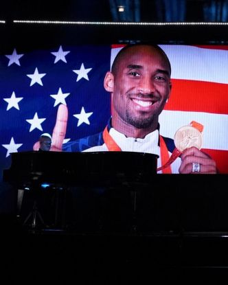 Basket - NBA - ASG - L'hommage à Kobe Bryant lors du All-Star Game de la NBA