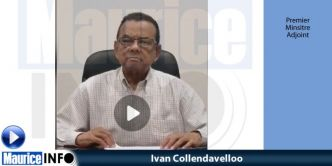 Ivan Collendavelloo » Mo rend hommage a nou personel hospitalier »