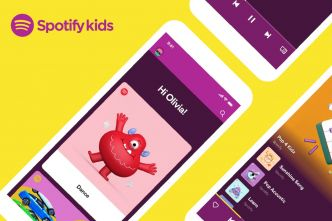 L'application Spotify Kids est disponible en France
