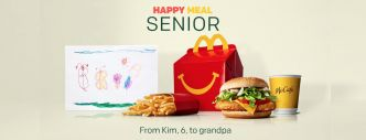 McDonald's : voici le premier Happy Meal pour grands-parents