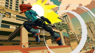 Team Reptile (Lethal League) annonce Bomb Rush Cyberfunk