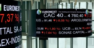 La Bourse de Paris finit en hausse de 0,90% à 4.933,34 points