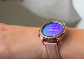 Samsung présente la Galaxy Watch 3, une montre sans concession