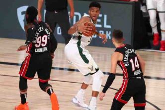 Basket - NBA - Les Milwaukee Bucks ont souffert mais gagné contre Miami