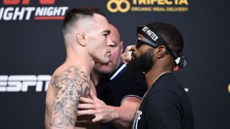 UFC Covington vs Woodley - Replay des face à face de la pesée