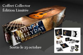 Laeticia, David et Laura valident le coffret collector du nouvel album de Johnny Hallyday
