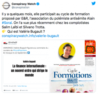 Conspiracy Watch et Taguieff se payent Valérie Bugault