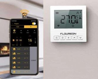 9,90€ le thermostat WiFi programmable FLOUREON (chauffage, chaudière…) Android / IOS