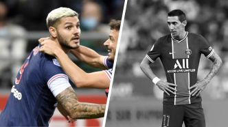 Football - Ligue 1 - Tops/Flops Reims-PSG : Icardi retrouvé, Di Maria emprunté