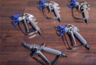 Overview Graco spray guns – Which spray gun fits my Airless? - Airless Discounter - News for Home Painters