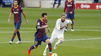Foot: le Real Madrid gagne à Barcelone un Clasico sous tension