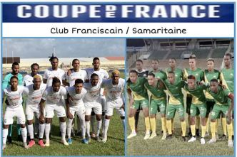 Club Franciscain - Samaritaine : affiche du 7e tour de la coupe de France de football zone Martinique