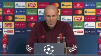 Foot - C1 - Real - Zinédine Zidane (Real Madrid) : « Les matches faciles n'existent plus »