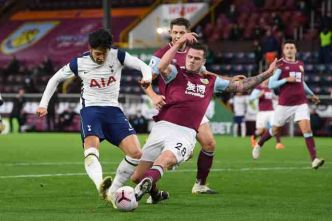 Foot - ANG - Premier League : Tottenham s'en sort à Burnley grâce à Son Heung-min