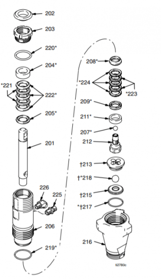 Graco Ultra 395 – Technical drawing & spare parts order list - Airless Discounter - News for Home Painters