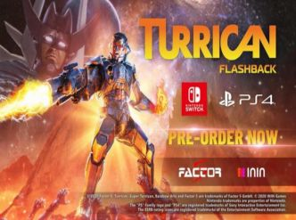 Turrican Flashback arrive sur Switch…