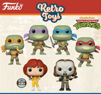 Figurines Funko Pop – Retro toys Tortues Ninja