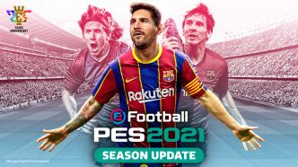 eFootball PES 2021 SEASON UPDATE : le Data Pack 3.0 est désormais disponible