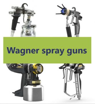Wagner spray gun - all models of Wagner professional guns - Airless Discounter - News for Home Painters