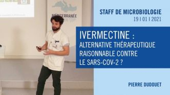 Ivermectine : alternative thérapeutique raisonnable contre le SARS-CoV-2 ?