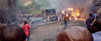 Cameroun: 53 morts brûlés dans l'accident d'un bus