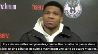 Basket - NBA - Bucks - Giannis Antetokounmpo (Milwaukee) : « On sait à quel point il faut se battre pour gagner »