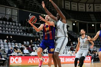 EuroLeague : gigantesque ! l'ASVEL swype le Barça au Palau Blaugrana