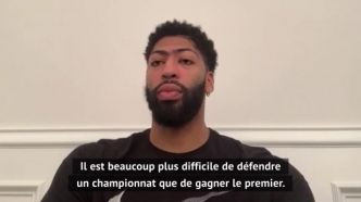 Basket - NBA - Lakers - Anthony Davis (Lakers) : « On est l'équipe à battre »