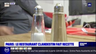 Restaurant clandestin : BFMTV passe à table