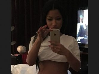 Nicki Minaj: super sexy en shorty!