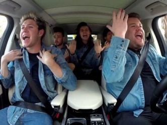 One Direction: ils s'essayent au Carpool Karaoké de James Corden!