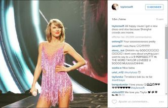 Taylor Swift : la plus suivie sur Instagram au monde !