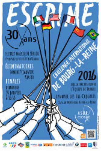 Challenge International de Bourg la Reine 2016
