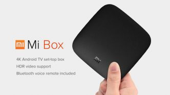 Xiaomi Mi Box 4K: Box TV sous Android TV 6.0 support 4K HDR