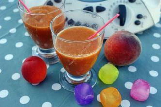 smoothie abricot pêche