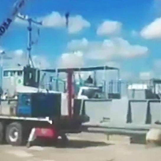 Dramatique accident sur un chantier