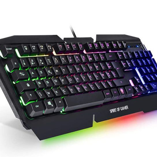 Spirit of Gamer Pro-K5 : Test du clavier gaming RGB | Univers-Gamer