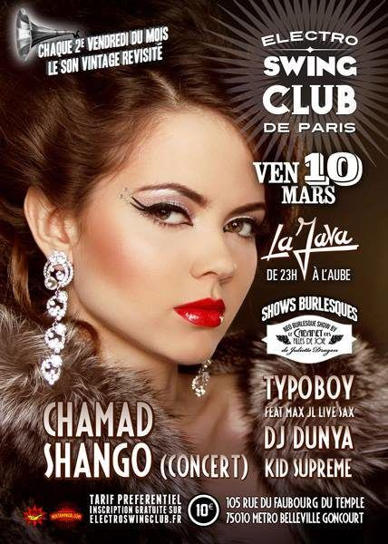 75 - Electro Swing Club @ La Java le 10/03/2017