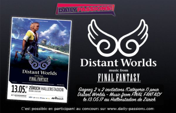 Concours Distant Worlds – Music from Final Fantasy (invits)