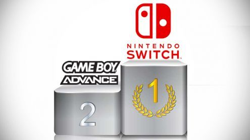 Nintendo Switch : Un record de ventes de la Game Boy Advance battu
